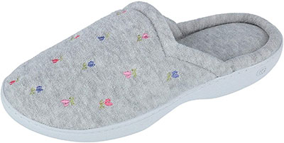 Isotoner Women's Classic Terry Clog Slippers