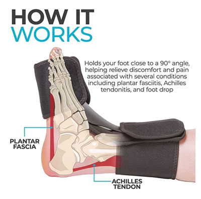 How Does a Night Splint Work for Plantar Fasciitis?